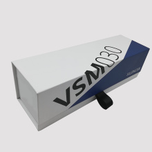 Custom Silencer Paper Gift Box With Black Ribbon