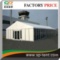 clearspan marquee 15x30m with Hard ABS and sandwich and glass cassettle walling system
