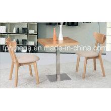 Custom Made High End Wood Restaurant Furniture (FOH-BCA18)