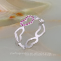 platinum love symbol ring couple love band ring hot fashion jewelry free shipping ring