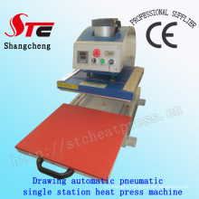 Drawing Pneumatic Digital Heat Transfer Machine 40*60cm Drawing Pneumatic Single Station Heat Press Machine Automatic T-Shirt Heat Transfer Machine Stc-Qd08