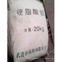 Agent auxiliaire chimique stabilisateur de chaleur de PVC stéarate de baryum