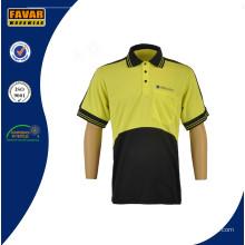 Chemise de travail pour le rapport aux vêtements de travail haute sécurité