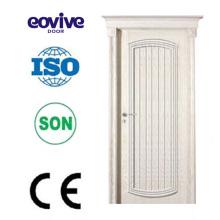 Último diseño de la chapa Natural decorativa madera puerta