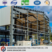 High Rise Steel Frame Warehouse with Mezzanine
