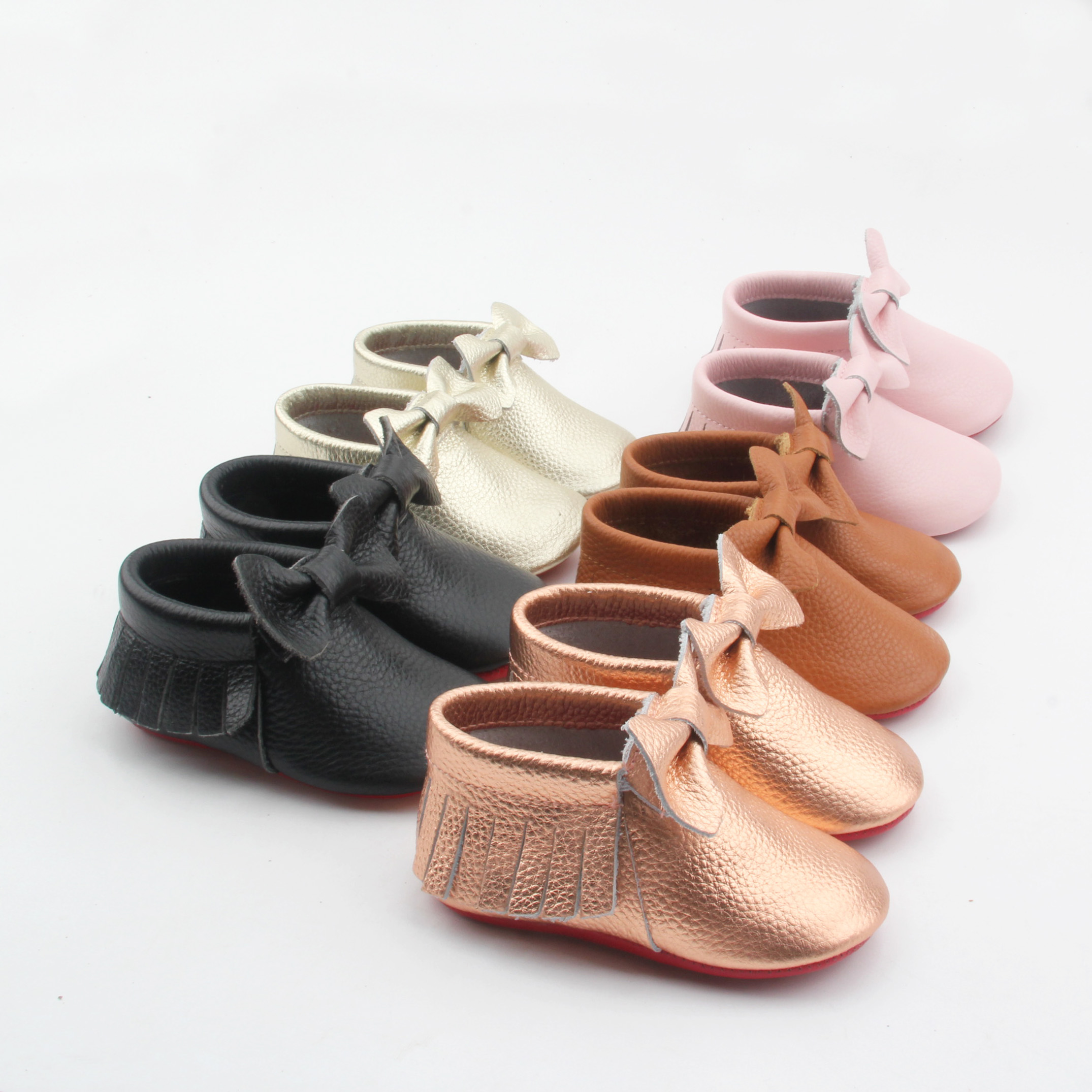 Baby Boots Leather