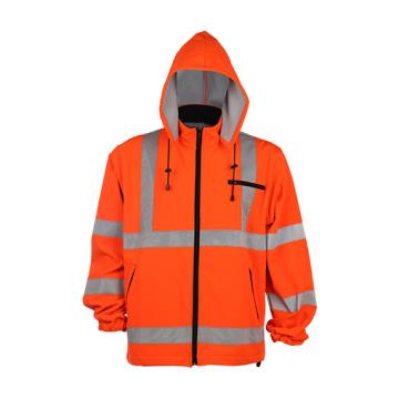 High Reflective Hooded Sweatshirt En471 Class3, ANSI/Isea Standard