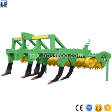 Multifunctional inter-row subsoiler plough cultivator