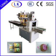 Dual inverter PLC control horizontal flow packing machine
