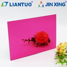 Verspiegelte Acrylglasplatte