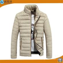Bombardero acolchado caliente de la chaqueta ajustada del invierno de los hombres de la moda