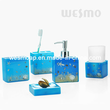 Polyresin Bathroom Set (WBP0807A)