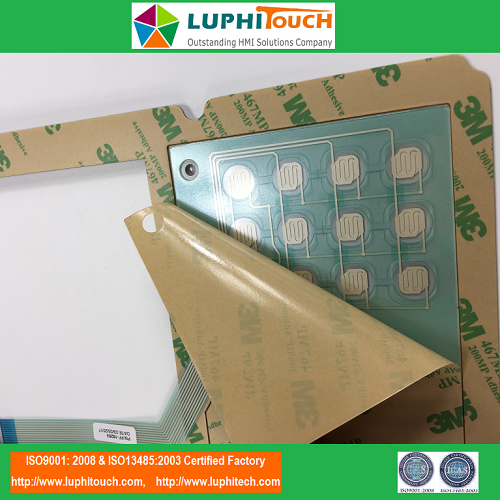 Pile Integrity Testing Device Waterproof Membrane Keypad