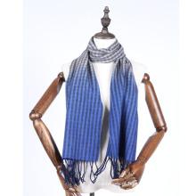 lenço de lã com gradiente