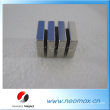 customized block Neodymium magnets for hot sale