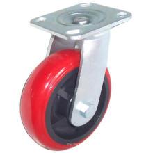 Roda giratória Industrial PU giratória