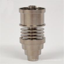 6in1 Titeless Titanium pour fumer avec insert E-Nail (ES-TN-044)