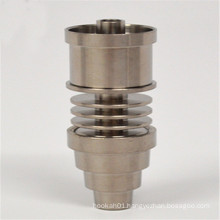 6in1 Domeless Titanium for Smoking with E-Nail Insert (ES-TN-044)