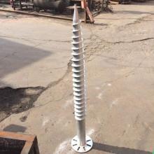 Exportación del ancla de tornillo de tierra de taladro de tierra de metal