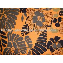Tissu Stretch de coton Spandex pantalon imprimé chemise