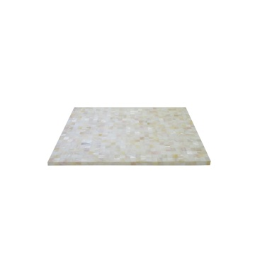Wholesale Price for Mother of pearl Placemat, Placemat direct from Jiujiang Tengjun Shell Arts and Crafts Co., Ltd. in China (Mainland) Eco Friendly River Shell Placemat for Star Hotels export to Comoros Suppliers