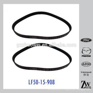Courroie en V auto de qualité originale pour Mazda 3 Mazda 5 BK OEM N °: LF50-15-908