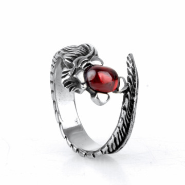 New Year's gift special tail ruby ring