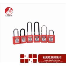 Cadeado de bloqueio de segurança bom trava bloqueio de etiquetas