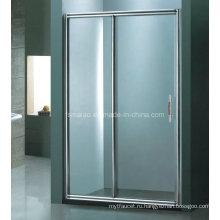 Санитарно-технические изделия Алюминиевая рамка раздвижного экрана ливня (H007B)