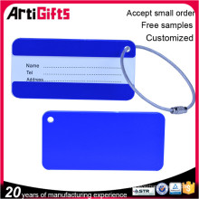Sophisticated technology metal write name luggage tag