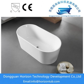 High gloss acrylic bathtub