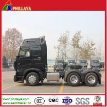 Reboque do caminhão do trator de HOWO A7 6X4 / cabeça do caminhão