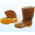 Jy-6237 Fashion Steel Toe Half Boot Rubber Boots Safety Rain Boots