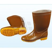 Jy-6237 Мода Steel Toe Half Boot Резиновые сапоги Безопасность Дождевые сапоги
