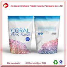 stand up food plastic bag packaging