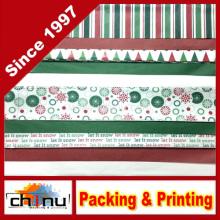 Печатная и тканая бумага для рождественской печати (510043)
