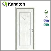 Venta caliente Puerta Toliet puertas de madera de PVC (puerta de PVC)