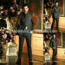 Новый стиль свадебное платье костюмы для мужчин 2014 из трех частей высокая-класс Оптовая мужской костюм деловые костюмы NB0569