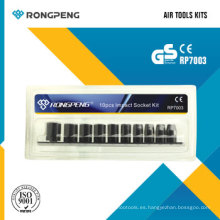 Rongpeng RP7003 10PCS Socket Kit de impacto