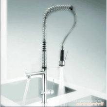 Вертикальные вытащить одной ручкой кухонный Кран