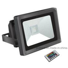 RGB 10W luz de inundación LED
