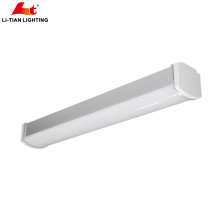 High quality Ip65 Led Tri Proof Luminaire light 20w 30w 40w 50w 60w Led Linear strip Light for tunnel supermarkets factories