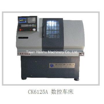Mini máquina de torno CNC Ck6125 Máquina de torno de pequeño tamaño