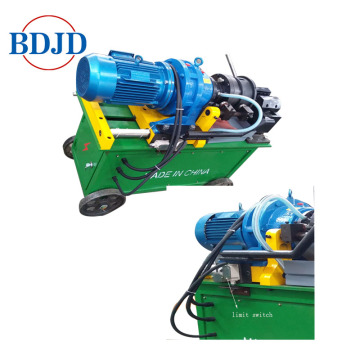 Splicing Rebar Rod Thread Rolling Machine dengan Precision Highness 14-40mm