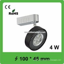 Certificat CE & ROHS de haute qualité 4W cob led track light