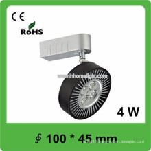 CE&ROHS certificate 4W cob led track light,3 years warranty