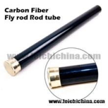 Tube de canne à pêche de mouche de fibre de carbone de haute qualité