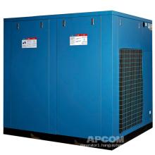 APCOM 2020 hot sale 45KW 60HP blue color  rotary industry oillness screw air compressor