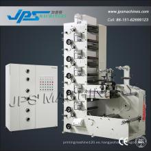 Jps320-6c-B Máquina de impresión transparente de rollo de película de PE