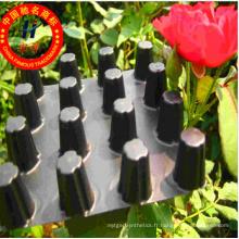 Panneau de drainage en polyéthylène / polystyrène